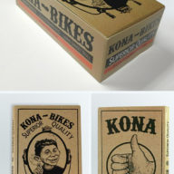 2016 Kona Launch Rolling Paper Packaging