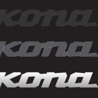 Refinement of Kona wordmark