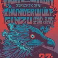 Illustration for Thunderwülf show in Auckland, NZ