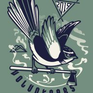 T-shirt illustration for Christchurch Adventure Park volunteer trail builders